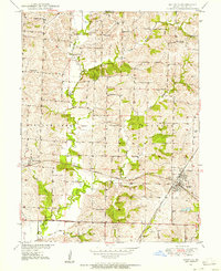 Download a high-resolution, GPS-compatible USGS topo map for Bucklin, MO (1956 edition)