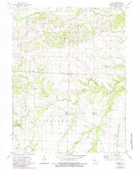 Download a high-resolution, GPS-compatible USGS topo map for Buell, MO (1985 edition)