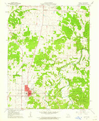 Download a high-resolution, GPS-compatible USGS topo map for Buffalo, MO (1962 edition)