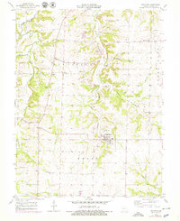 Download a high-resolution, GPS-compatible USGS topo map for Bunceton, MO (1979 edition)