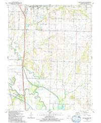 Download a high-resolution, GPS-compatible USGS topo map for Butler South, MO (1991 edition)