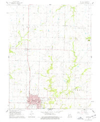 Download a high-resolution, GPS-compatible USGS topo map for Butler, MO (1977 edition)