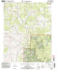 Download a high-resolution, GPS-compatible USGS topo map for Cabool SW, MO (2006 edition)