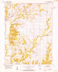 Download a high-resolution, GPS-compatible USGS topo map for Calhoun East, MO (1955 edition)
