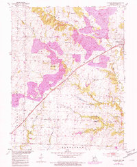 Download a high-resolution, GPS-compatible USGS topo map for Calhoun West, MO (1982 edition)