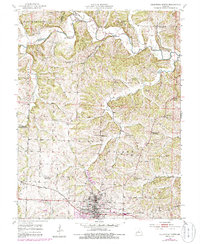 Download a high-resolution, GPS-compatible USGS topo map for California North, MO (1986 edition)