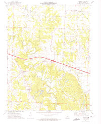 Download a high-resolution, GPS-compatible USGS topo map for Calwood, MO (1975 edition)