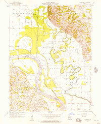 Download a high-resolution, GPS-compatible USGS topo map for Cambridge, MO (1957 edition)
