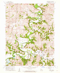 Download a high-resolution, GPS-compatible USGS topo map for Camden Point, MO (1962 edition)