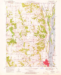 Download a high-resolution, GPS-compatible USGS topo map for Canton, MO (1967 edition)