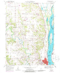 Download a high-resolution, GPS-compatible USGS topo map for Canton, MO (1986 edition)