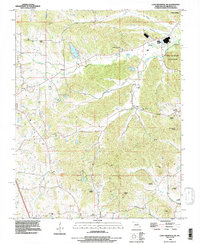 Download a high-resolution, GPS-compatible USGS topo map for Cape Girardeau NE, MO (1996 edition)