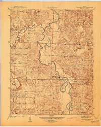 Download a high-resolution, GPS-compatible USGS topo map for Caplinger Mills, MO (1941 edition)