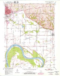 Download a high-resolution, GPS-compatible USGS topo map for Carrollton East, MO (1979 edition)