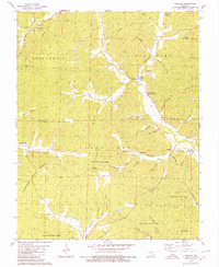 Download a high-resolution, GPS-compatible USGS topo map for Cascade, MO (1980 edition)