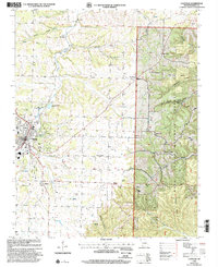 Download a high-resolution, GPS-compatible USGS topo map for Cassville, MO (2002 edition)