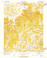 Download a high-resolution, GPS-compatible USGS topo map for Cedar Gap, MO (1953 edition)