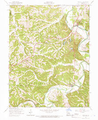Download a high-resolution, GPS-compatible USGS topo map for Cedar Hill, MO (1966 edition)