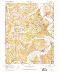 Download a high-resolution, GPS-compatible USGS topo map for Cedar Hill, MO (1969 edition)