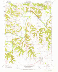 Download a high-resolution, GPS-compatible USGS topo map for Center, MO (1973 edition)
