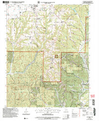 Download a high-resolution, GPS-compatible USGS topo map for Chadwick, MO (2006 edition)