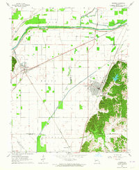 Download a high-resolution, GPS-compatible USGS topo map for Chaffee, MO (1964 edition)