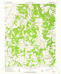 Download a high-resolution, GPS-compatible USGS topo map for Charity, MO (1962 edition)
