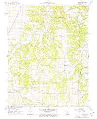 Download a high-resolution, GPS-compatible USGS topo map for Charity, MO (1977 edition)
