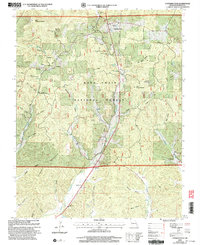 Download a high-resolution, GPS-compatible USGS topo map for Cherokee Pass, MO (2003 edition)