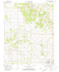 Download a high-resolution, GPS-compatible USGS topo map for Chesapeake, MO (1981 edition)