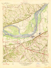 Download a high-resolution, GPS-compatible USGS topo map for Chesterfield, MO (1947 edition)
