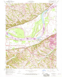 Download a high-resolution, GPS-compatible USGS topo map for Chesterfield, MO (1969 edition)