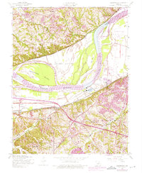 Download a high-resolution, GPS-compatible USGS topo map for Chesterfield, MO (1975 edition)