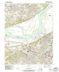 Download a high-resolution, GPS-compatible USGS topo map for Chesterfield, MO (1995 edition)
