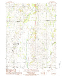 Download a high-resolution, GPS-compatible USGS topo map for Chula, MO (1985 edition)