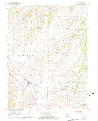 Download a high-resolution, GPS-compatible USGS topo map for Clark, MO (1983 edition)