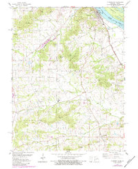 Download a high-resolution, GPS-compatible USGS topo map for Clarksville, MO (1984 edition)