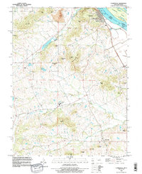 Download a high-resolution, GPS-compatible USGS topo map for Clarksville, MO (1996 edition)