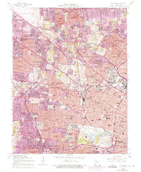 Download a high-resolution, GPS-compatible USGS topo map for Clayton, MO (1975 edition)