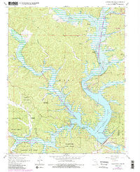 Download a high-resolution, GPS-compatible USGS topo map for Clearwater Dam, MO (1985 edition)