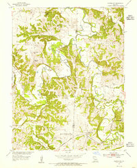 Download a high-resolution, GPS-compatible USGS topo map for Clifton City, MO (1955 edition)