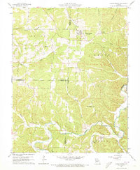 Download a high-resolution, GPS-compatible USGS topo map for Climax Springs, MO (1973 edition)