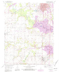 Download a high-resolution, GPS-compatible USGS topo map for Clinton South, MO (1982 edition)