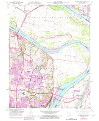 Download a high-resolution, GPS-compatible USGS topo map for Columbia Bottom, MO (1983 edition)