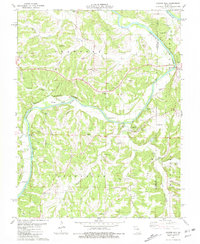 Download a high-resolution, GPS-compatible USGS topo map for Cooper Hill, MO (1981 edition)