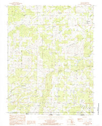 Download a high-resolution, GPS-compatible USGS topo map for Couch, MO (1985 edition)
