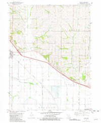 Download a high-resolution, GPS-compatible USGS topo map for Craig, MO (1982 edition)