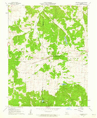 Download a high-resolution, GPS-compatible USGS topo map for Crockerville, MO (1962 edition)