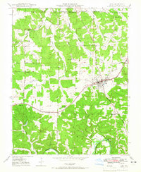 Download a high-resolution, GPS-compatible USGS topo map for Cuba, MO (1965 edition)