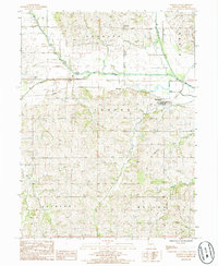 Download a high-resolution, GPS-compatible USGS topo map for Darlington, MO (1986 edition)